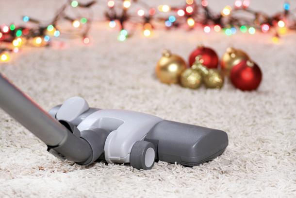 vysávač, vianoce, upratovanie, čistenie kobercov